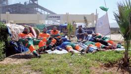URGENT. Les grévistes de Lafarge évacués de force par la police