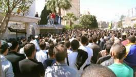 Bejaïa marche contre le quatrième mandat de Bouteflika
