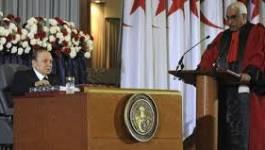 Bouteflika a prêté serment mais c'est le système qui s'est adressé à la nation