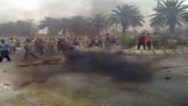 Ghardaïa : palmeraie en feu et un blessé grave dans des affrontements