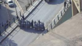 Après les dérives policières d'hier, les heurts reprennent à Tizi-Ouzou