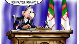 Faible et tremblant, Bouteflika prête serment (vidéo)