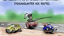 Les accidents continuent d'ensanglanter nos routes
