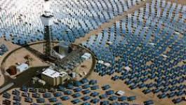L'eau, le Sahara et les centrales solaires à concentration