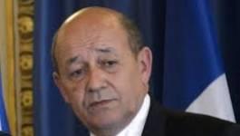 Le ministre français de la Défense à Alger pour évoquer la base militaire de Tessalit