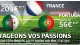 Supporters ou non, profitez des promotions Aigle Azur !