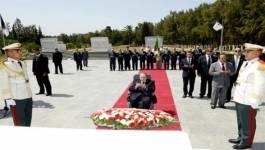 Abdelaziz Bouteflika fait sa première sortie au carré des martyrs d'El Alia