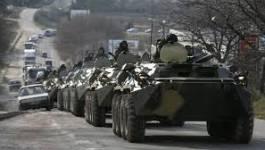 La Russie masse ses blindés près de la frontière ukrainienne