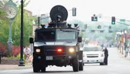 Répression policière contre les manifestants de Ferguson aux USA