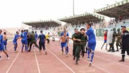 Des supporteurs affrontent des gendarmes dans un stade de Chlef !!!