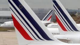 Le trafic de la compagnie Air France paralysé