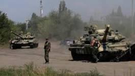 Les chars russes font reculer les troupes ukrainiennes à Lougansk