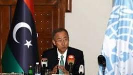 Ban Ki-moon appelle à un cessez-le-feu et incite au dialogue en Libye