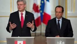 Stephen Harper et François Hollande : le temps arrangera les choses