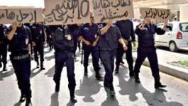 Les première mesures en faveur des policiers manifestants