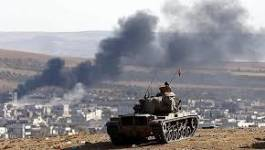 L'armée turque ouvre le feu contre les combattants kurdes