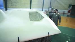 L'Iran teste un nouveau drone de combat de fabrication nationale