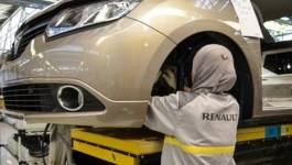 Les premiers véhicules Renault Symbol-Algérie en circulation