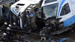 Mme Ghezzaz Djouher victime de l'accident de train d'Alger