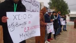 Khenchela : des jeunes diplômés investissent la rue à Kaïs