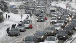 Neige en France : 15 000 voyageurs dans des centres d'hébergement d'urgence