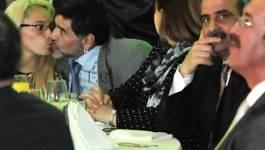 Le pied de nez de Maradona aux officiels algériens