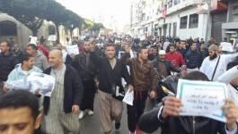 MDS : une marche islamiste à Alger en faveur du terrorisme
