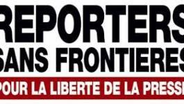 Reporters sans frontières classe l'Algérie à la 119e place