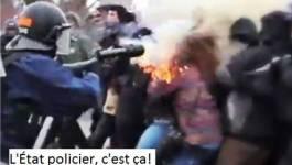 Violence policière contre les étudiants au Québec