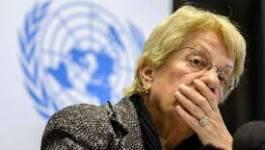 Carla del Ponte: il faut négocier avec Bachar Assad