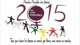 Soutien de la Marche mondiale des femmes à Cherifa Kheddar
