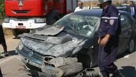 Accidents de la route : six morts et 19 blessés en un jour