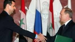 Assad veut une plus grande protection militaire russe en Syrie