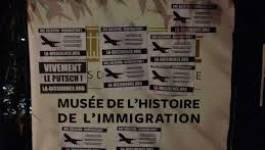 Tags au Musée de l'immigration (Paris) : Dissidence française répond