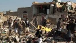 L'aviation arabe bombarde Sanaa, la capitale du Yémen