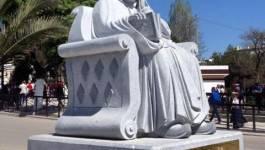 Le wali déboulonne la statue de Cheikh Ben Badis à Constantine