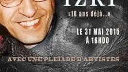 Hommage à Brahim Izri au Cabaret sauvage (Paris)