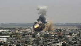 L'aviation israélienne bombarde à Gaza après un tir de roquette