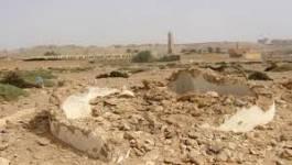 Les cimetières saccagés du M'zab laissés en l'état depuis plus d'une année