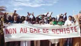 Motion de soutien au mouvement citoyen antigaz de schiste d'In Salah