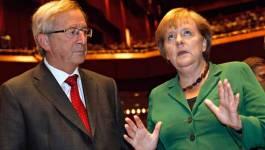 Juncker et Merkel peinent à répondre à l'initiative du référendum grec