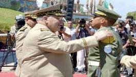 Ahmed Gaïd Salah préside la cérémonie de sortie des promotions d'officiers Ali Kafi