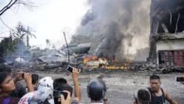 Au moins 116 morts dans le crash d'un avion militaire en Indonésie