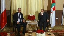 François Hollande : un p'tit tour à Alger puis s'en va !