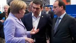 Grèce :Tsipras redit à Merkel et Hollande sa détermination à tenir le référendum