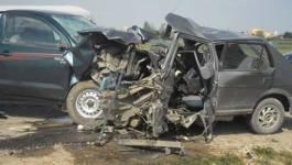 Batna : trois morts et 3 personnes grièvement blessées dans deux accidents de la circulation