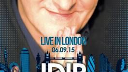 Idir en concert live au Grand Clapham de Londres le 6 septembre 2015