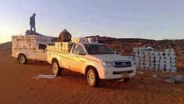 Saisie de 9 tonnes de denrées alimentaires à Bordj Badji Mokhtar