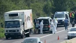 Plusieurs dizaines de réfugiés retrouvés morts dans un camion en Autriche