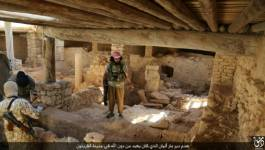 Syrie: les jihadistes de l'EI détruisent un monastère du Ve siècle